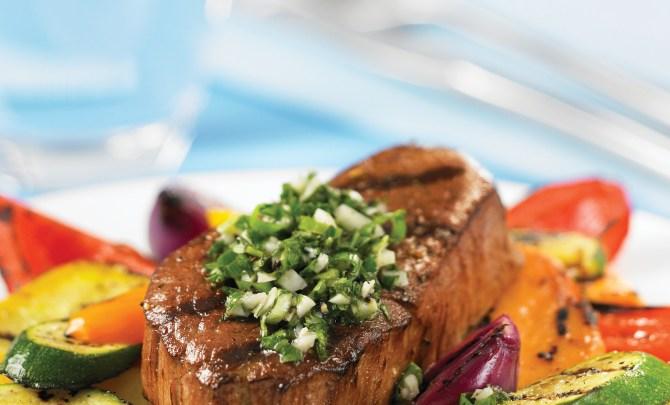 beef-steak-with-herb-garnish