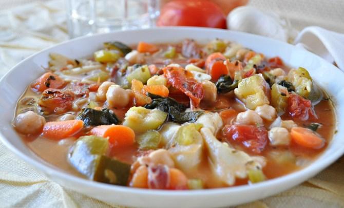 Italian Vegetable Soup Recipe Spry Living - Italian vegetable soup