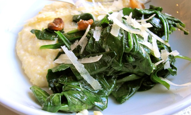 spring-greens-with-roasted-garlic