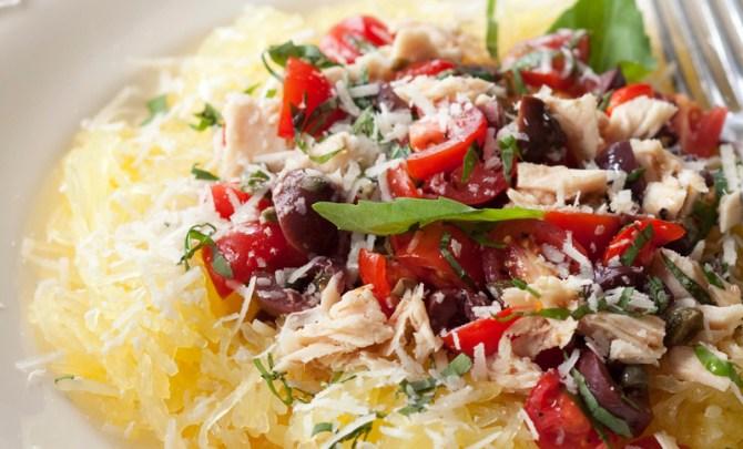 easy-gluten-free-cookbook-diet-recipe-spaghetti-squash-pasta-puttanesca-health-spry