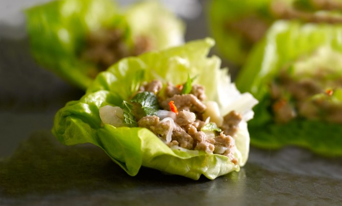 giada-de-laurentiis-turkey-taco-lettuce-cup-asian-ethnic-food-nutrition-diet-health-recipe-spry
