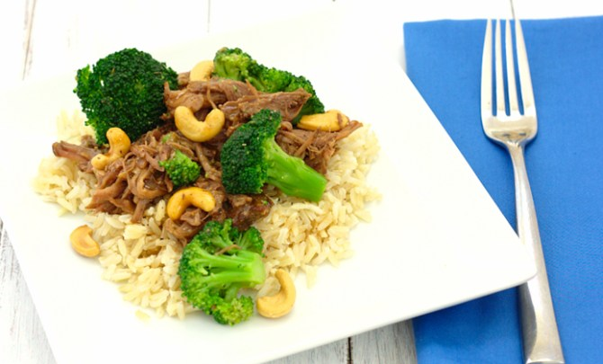 Asian beef and broccoli slow cooker recipe recipe spry living healthy chinese beef with broccoli recipe forumfinder Image collections