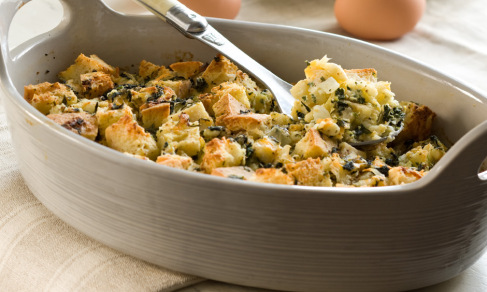 herbed-spinach-goat-cheese-strata-artisan-relish
