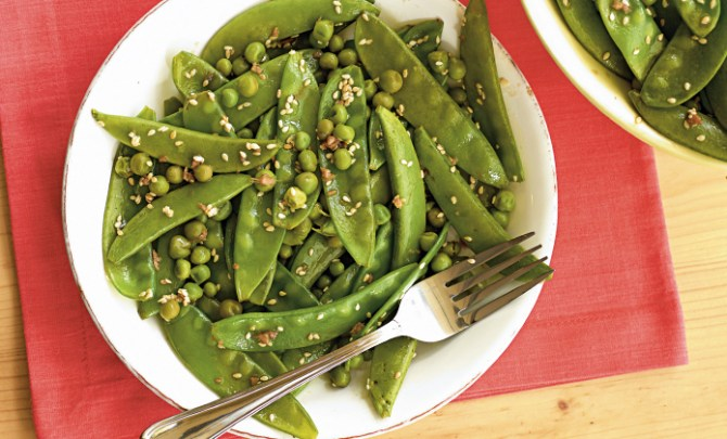 Sugar Snap-Snow Pea-Salad from Southern Living.