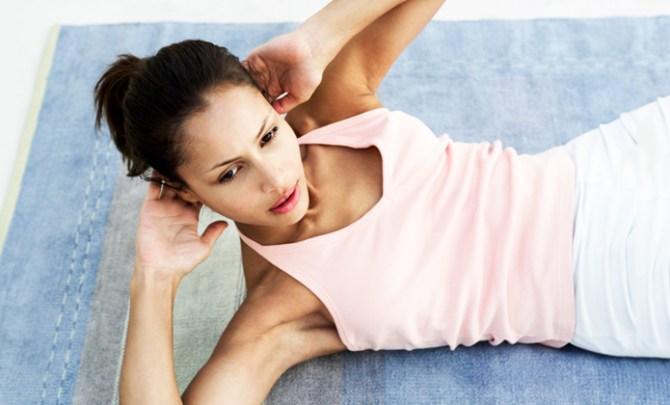 Tough ab exercises.