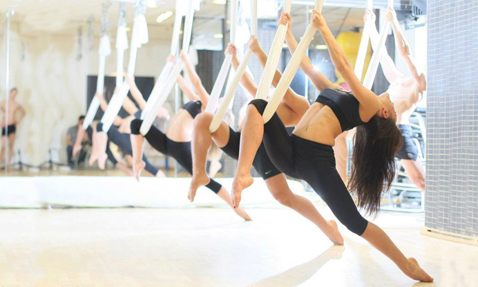My First Time Aerial Yoga Spry Living