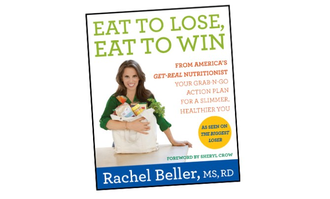 Recipes from the Biggest Loser cookbook.
