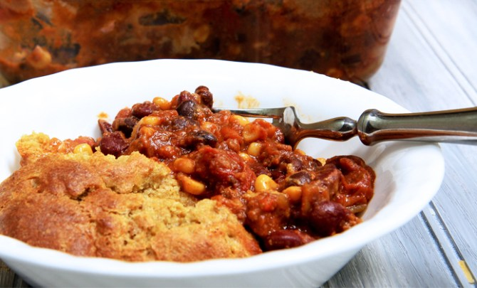 Flaxbread-Chili-Cheese-Bake-Pie-Casserole-Health-Spry