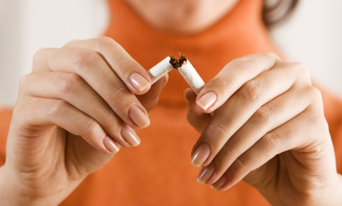 Tips for how to lose weight when you stop smoking.