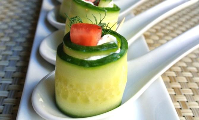 Gluten-free Cucumber Dill Tomato Wraps recipe.