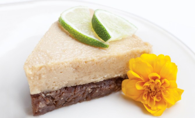 No-Bake Raw Key Lime Pie recipe.