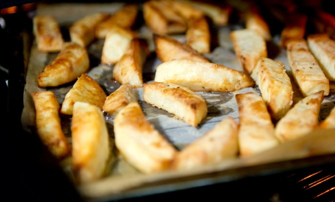 Oven Baked Fries recipe.