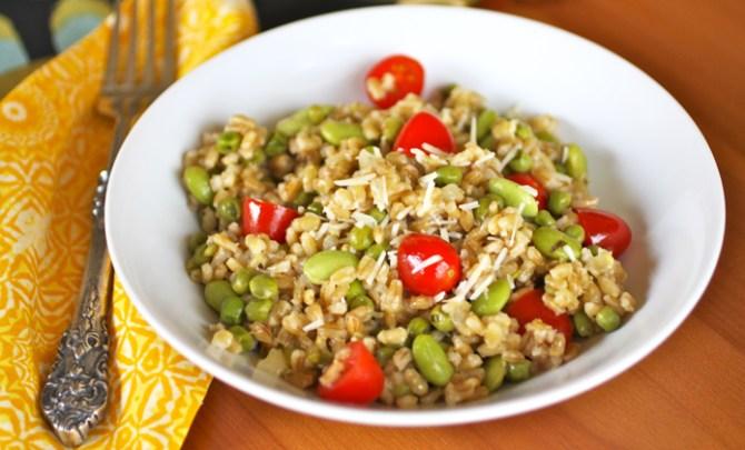Spring Barley Salad with Lemony Dressing recipe.