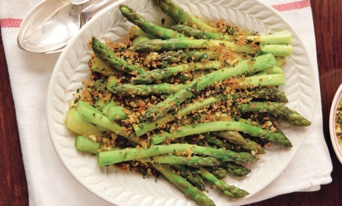 Asparagus Gremolata recipe.