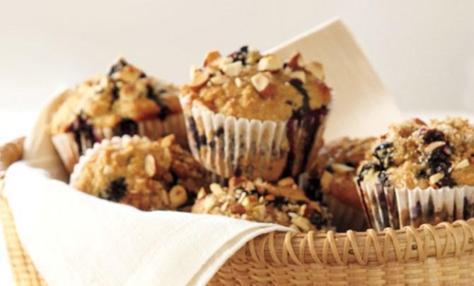 Whole-grain Blueberry Muffin recipe.