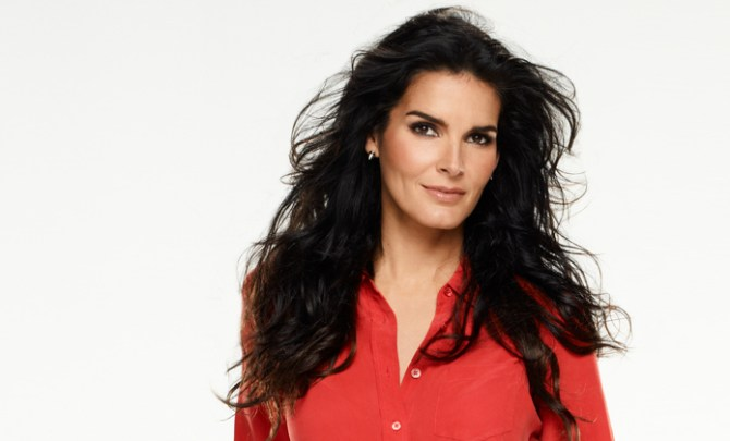 Angie Harmon talks about her family and health.