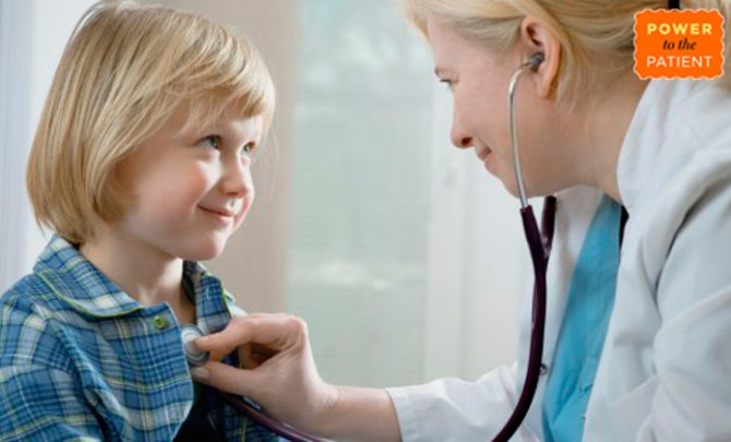 Doctor checkup with patient.