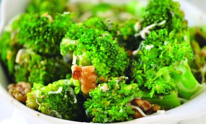 broccoli with walnuts 2