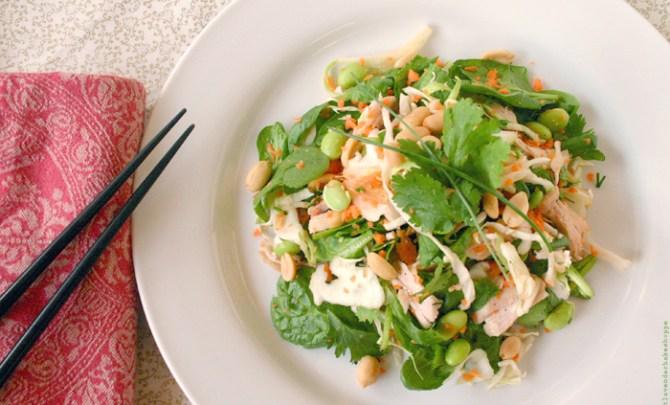 Turkey Thai Crunch Salad