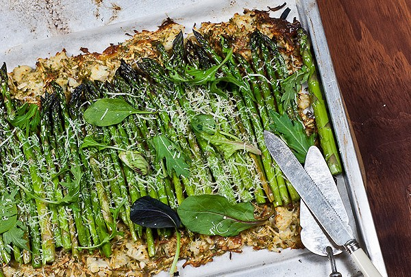 Asparagus and Vegetable Tart