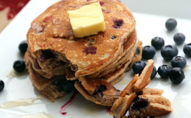 whole wheat blueberry