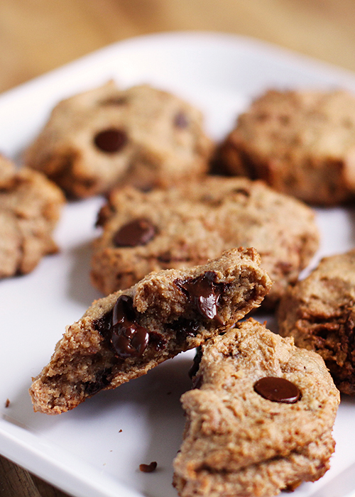 Healthy Living Chocolate Chip Cookies