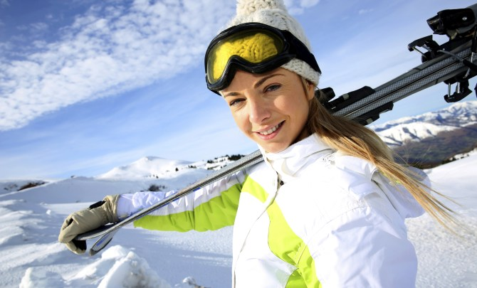 health benefits skiing