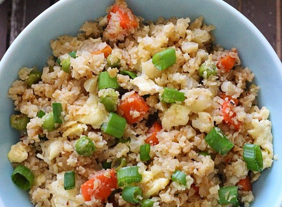 cauliflower %22fried rice%22