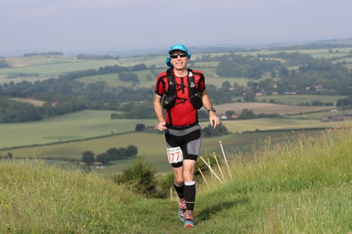 Running South Downs Way 2018, finished in 20:54:19
