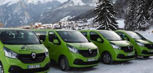 Transfer minibuses from Pleisure Holidays