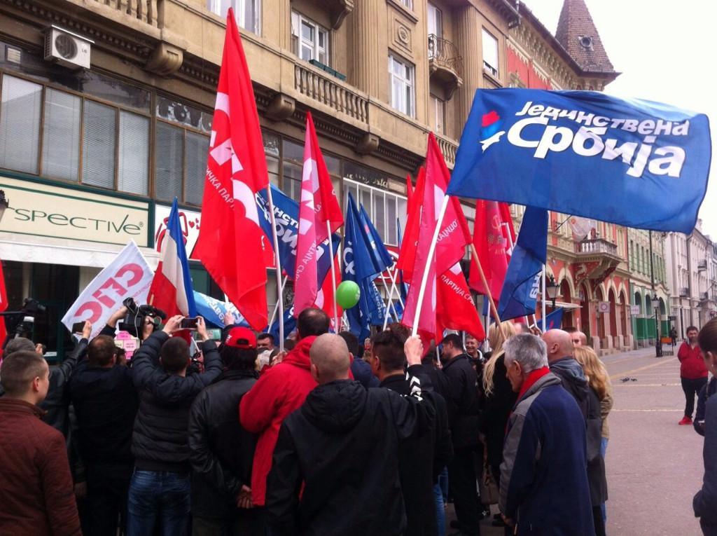 Социјалисти Апатина у Суботици