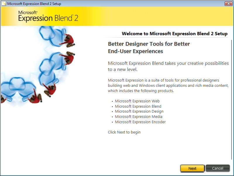 Installing Expression Blend