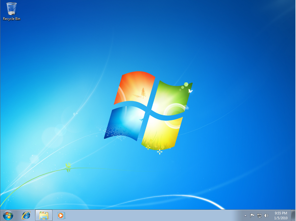 Fresh Install of Windows 7
