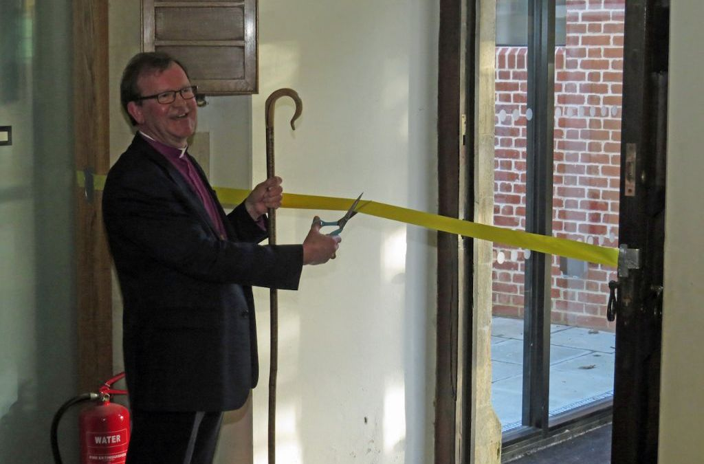 Bishop Christopher Opening Our New Extension