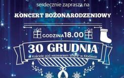 Więcej o: Zaproszenie na Koncert Bożonarodzeniowy