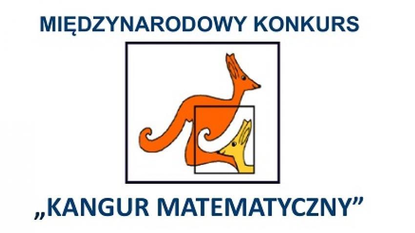 Konkurs Kangur Matematyczny - informacje organizacyjne