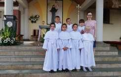 Więcej o: Diecezjalna pielgrzymka dzieci komunijnych do Świnic Warckich