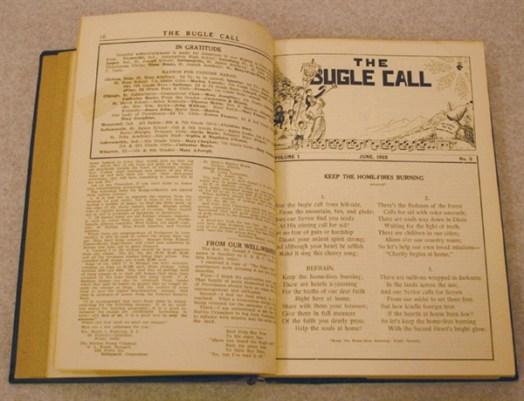 Through the years, the sisters in the United States and their students were kept informed of the mission in China by The Bugle Call. The Bugle Call was published by the Journalism Department at Saint Mary-of-the-Woods College. It continued as a bi-monthly publication through 1958.
