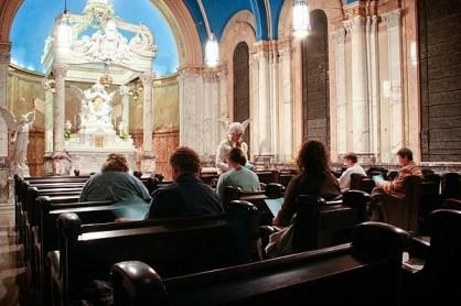 Blessed Sacrament Chapel-Prayer service