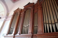 The pipe organ in the Church of the Immaculate Conception was installed in 1953.