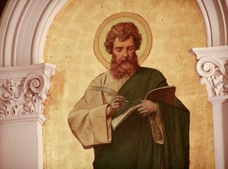 Thaddeus von Zukotynski created all of the paintings in the church.