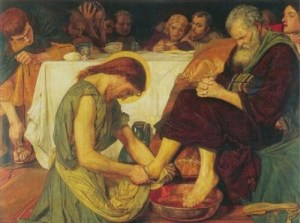 """The next time you are tempted to """"lord it over"""" another person, recall Jesus' invitation to be a servant to all."""