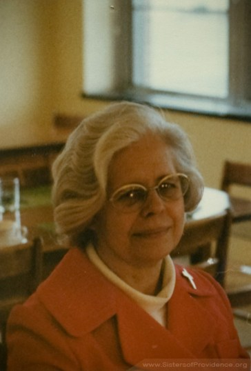 Sister Edith Pfau in 1977. In addition to decades of ministry in art education, Pfau was herself an accomplished painter and artist.