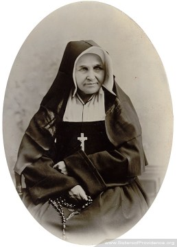 Mother Anastasie was general superior of the Sisters of Providence from 1868-1874.