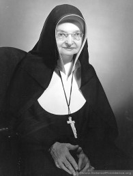 Mother Gertrude Clare was general superior of the Sisters of Providence from 1954-1960.