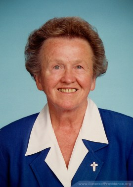 Sister Diane Ris was general superior of the Sisters of Providence from 1996-2001.