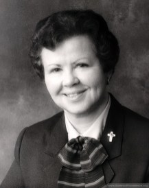 Sister Nancy Nolan was general superior of the Sisters of Providence from 1986-1996.