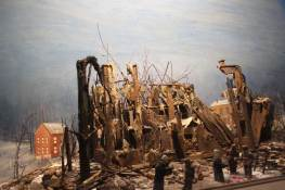 """""""Fire of 1889"""". No original. A fire completely destroys all of the first Providence Convent on Feb. 7, 1889."""