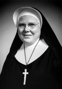 Sister Bernice Kuper in the early 1960s, during the Vatican II era.