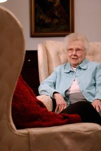 Sister Bernice offers spiritual direction in 2010.